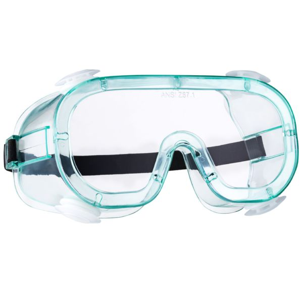 Anti-Fog Vented Safety Work Goggles