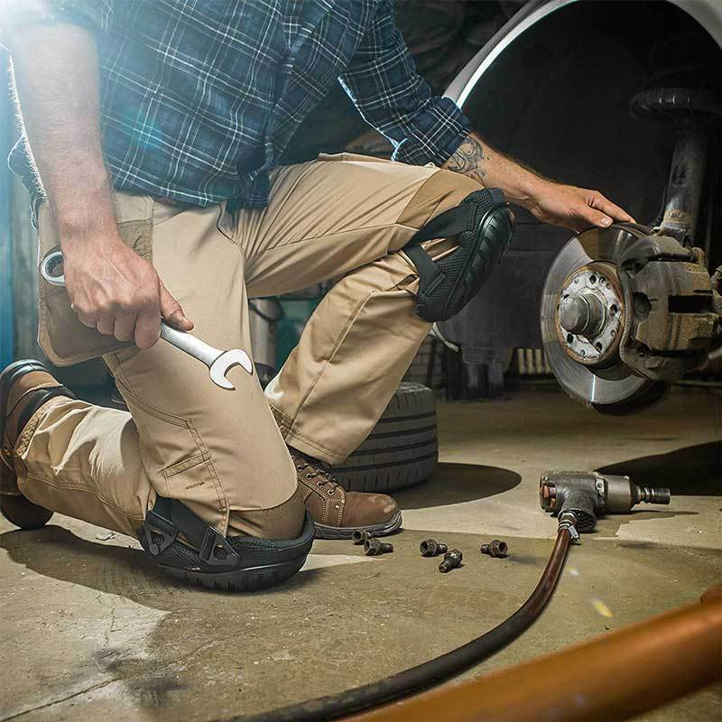NoCry Professional Knee Pads for automotive mechanic work