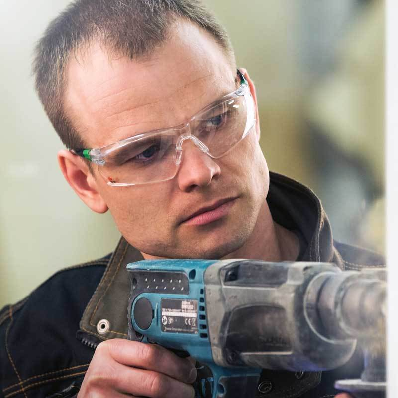 NoCry Safety Glasses for construction and metal mork